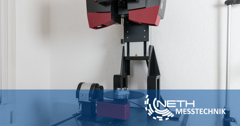 Darmstadt 3D Scan Messtechnik Neth