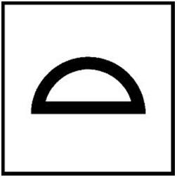 Symbol Flächentoleranz